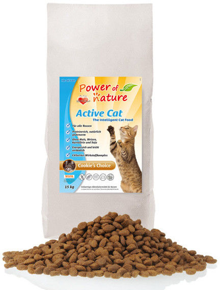 Power of Nature Active Cat Cookie''s Choice 2kg