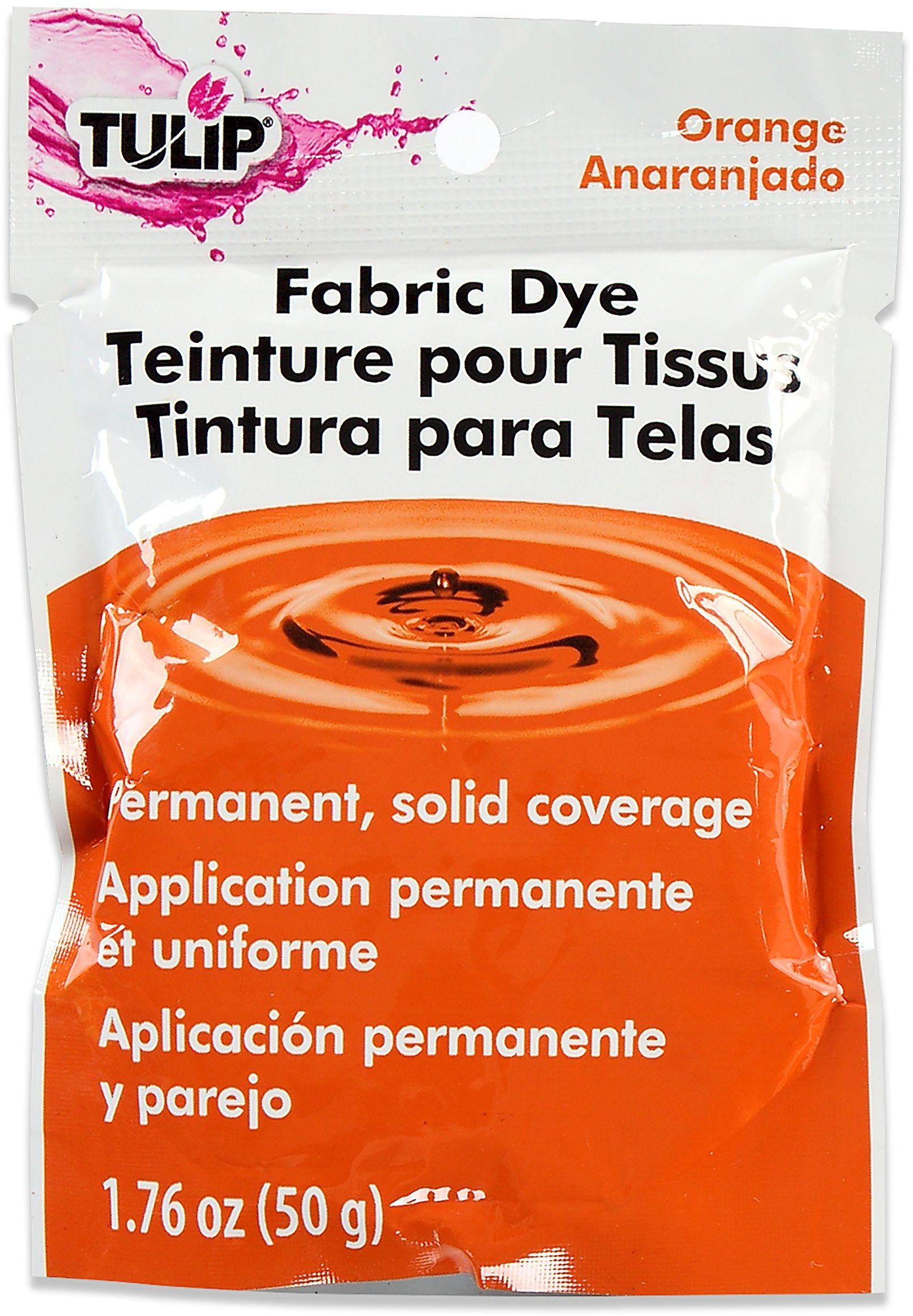 TULIP Trwały barwnik tkaniny, pomarańczowy