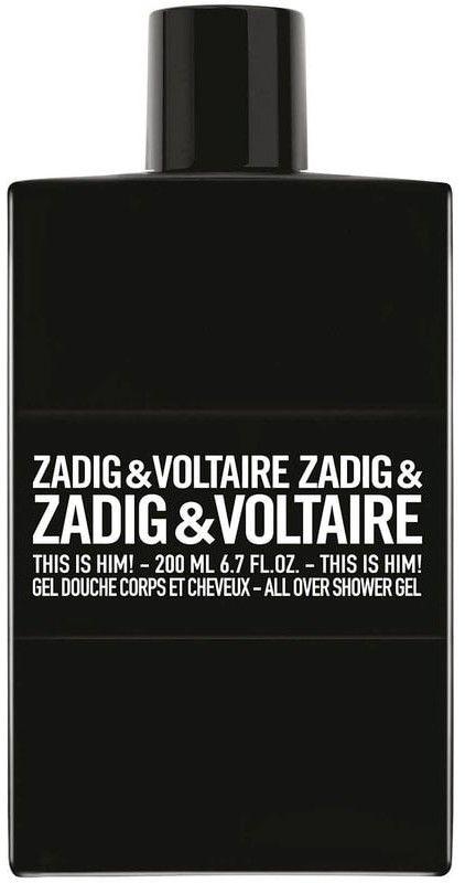 Zadig & Voltaire This is Him! żel pod prysznic dla mężczyzn 200 ml