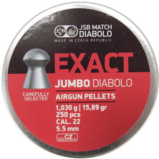 Śrut Diabolo JSB EXACT JUMBO 5,50 mm 250szt.