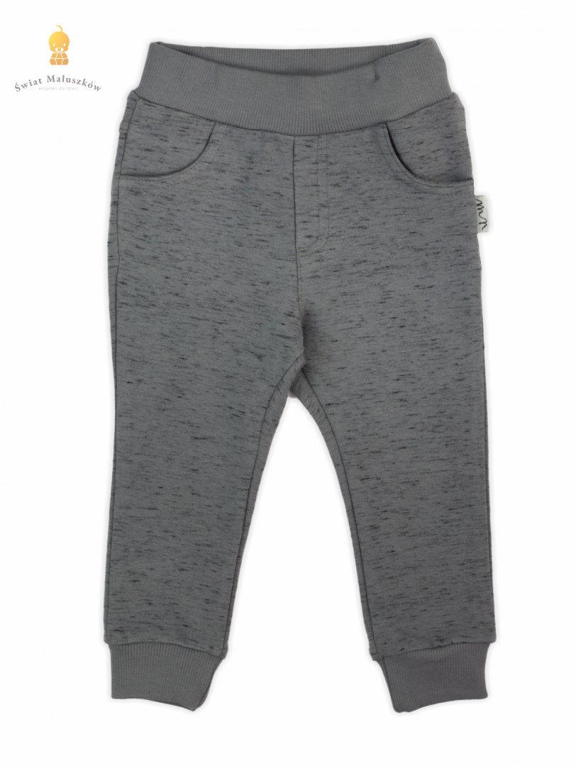 Spodnie dresowe Szare Mix NICOL r.86-122