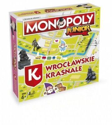Winning Moves Monopoly Junior Wrocławskie Krasnale