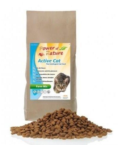 Power of Nature Active Cat Farm Mix organic 6kg