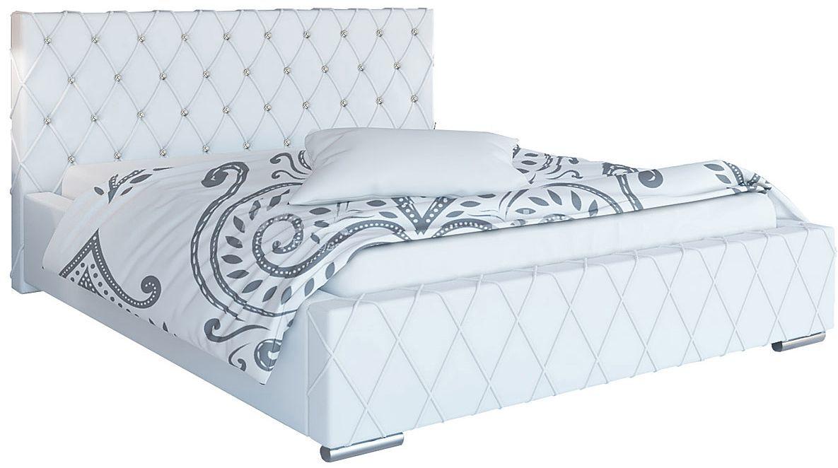 Podwójne łóżko tapicerowane 180x200 Loban 2X - 48 kolorów