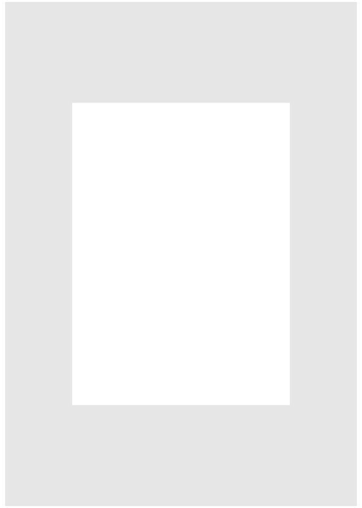 Passe-partout 148 białe 21 x 30 cm