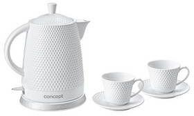 Czajnik elektryczny 1,5 l Concept RK-0040 + dwie filiżanki gratis tel. 697 256 410 - zadzwoń, zapytaj, negocjuj!