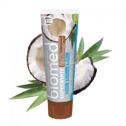 Splat BIOMED SUPERWHITE - wybielająca pasta do zębów z olejkiem z kokosa i papainą 100g