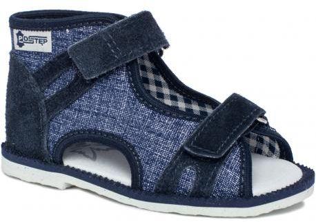 Ren But POSTĘP kapcie sandałki profilaktyczne BS 191 Maja - Jeans