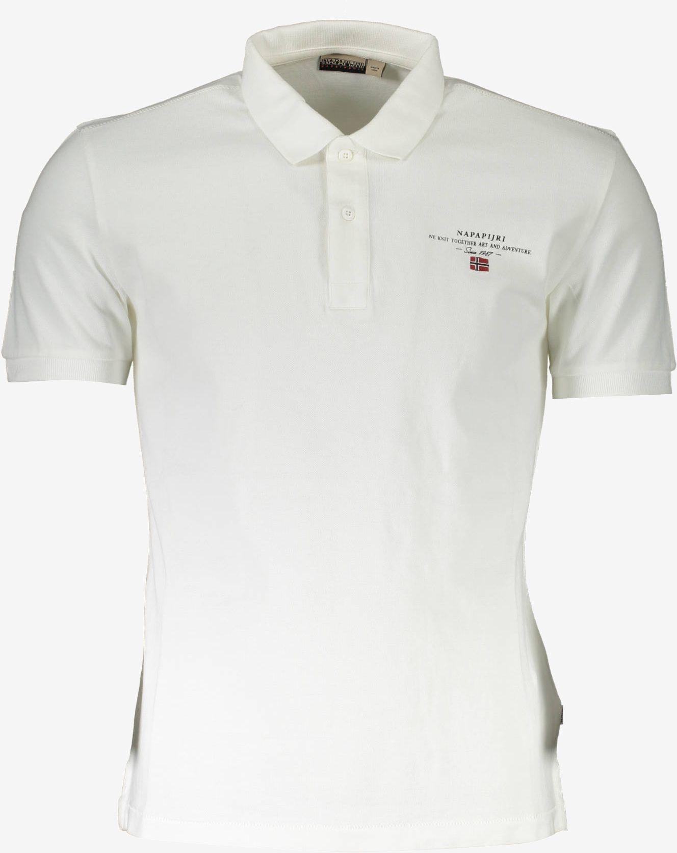 Koszulka polo NAPAPIJRI z krótkim rękawem Męska