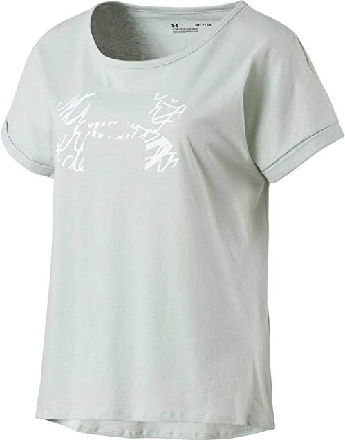 Under Armour Damska koszulka HG Armour, Atlas Green, XXS