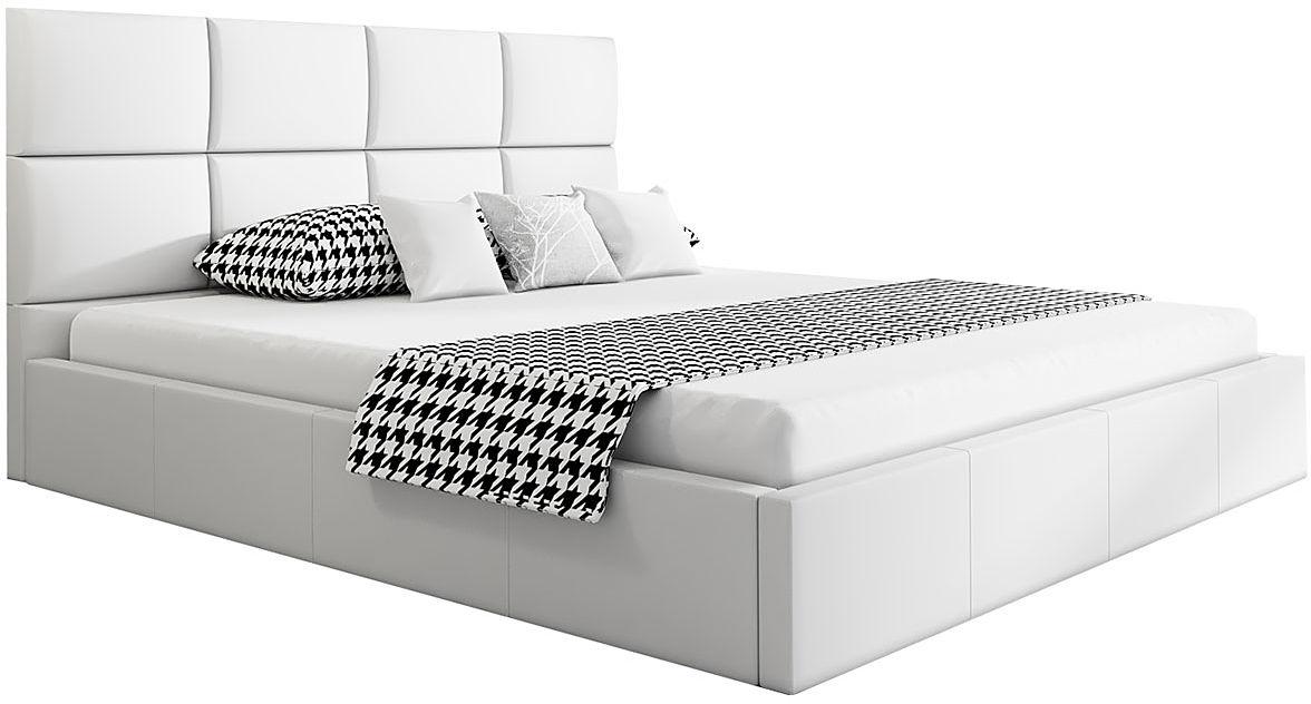 Jednoosobowe łóżko z pojemnikiem 120x200 Nikos 3X - 48 kolorów