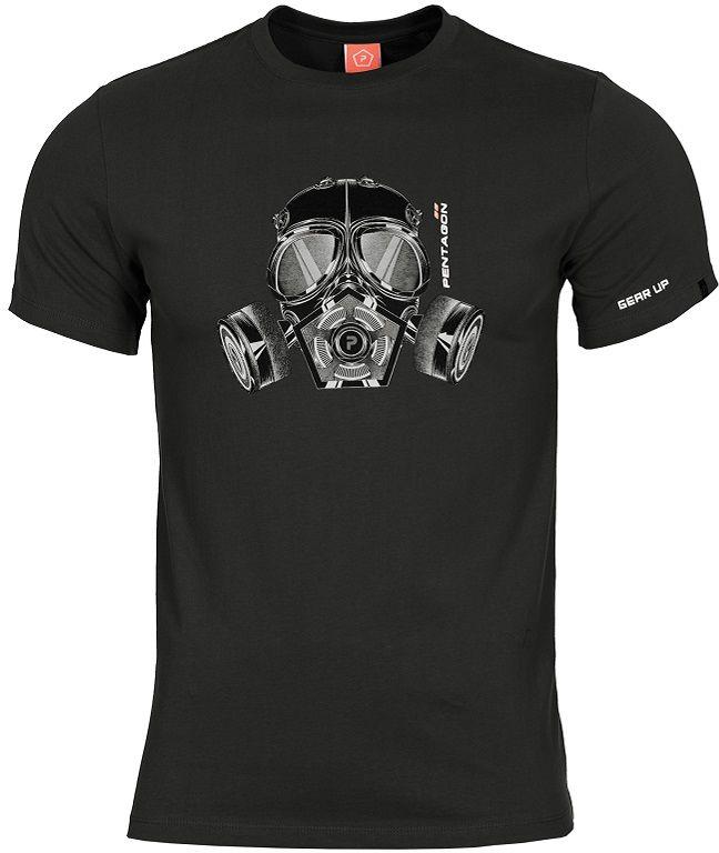 "Koszulka T-shirt Pentagon ""Gas-Mask"" - Black (K09012-01)"