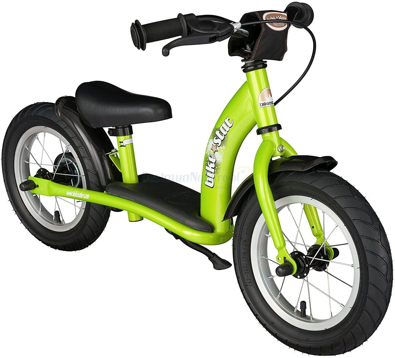 """Rowerek biegowy 12"""" XL BIKESTAR GERMANY classic zielony"""