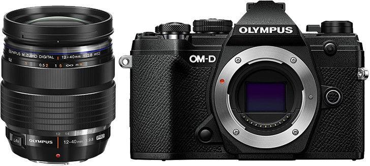 Aparat Olympus OM-D E-M5 MK III czarny + 12-40 f/2.8 PRO Cashback 650zł
