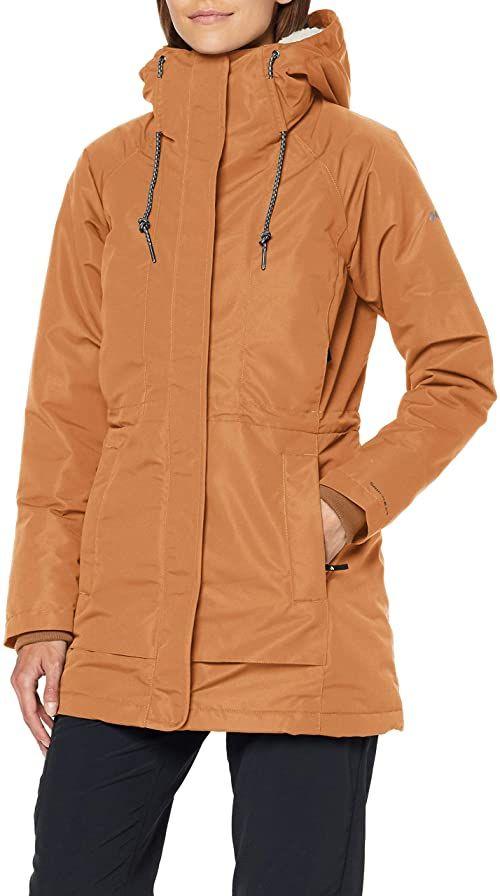 Columbia South Canyon Sherpa damska kurtka z podszewką Sherpa brązowy Camel Brown M