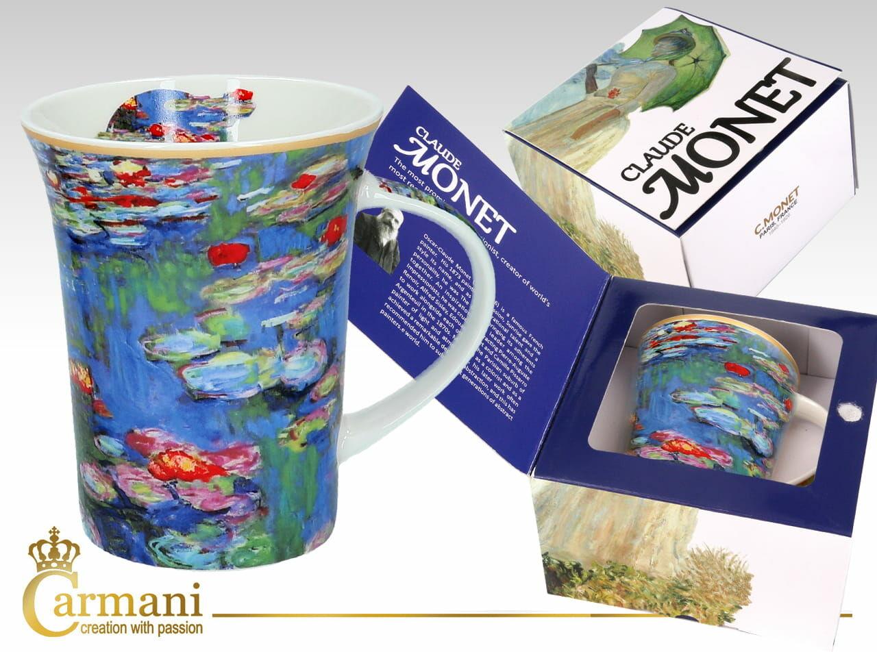 Carmani, kubek Claude Monet, Wodne Lilie