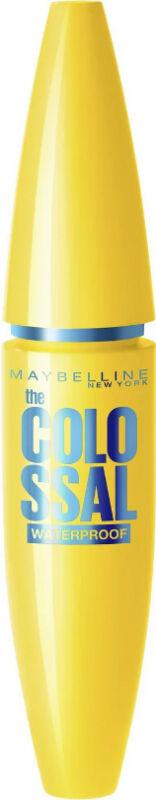 MAYBELLINE - The COLOSSAL WATERPROOF MASCARA - Wodoodporny Pogrubiający tusz do rzęs - 01 BLACK