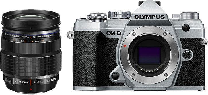 Aparat Olympus OM-D E-M5 MK III srebrny + 12-40 f/2.8 PRO Cashback 650zł
