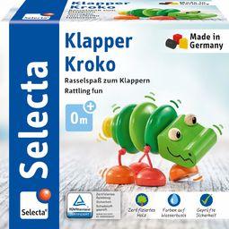 Selecta 61044 Klapper-Kroko, chwytak wykonany z drewna