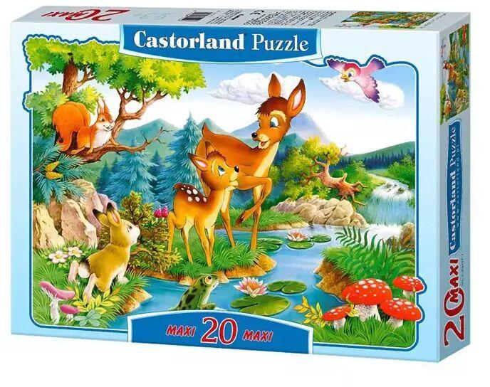 Puzzle 20 maxi - Bambi CASTOR - Castorland