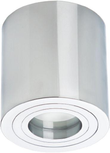 Light Prestige Faro LP-1464/1SM XL CH oprawa stropowa natynkowa metalowa chrom tuba 1x50W GU10 9,5cm
