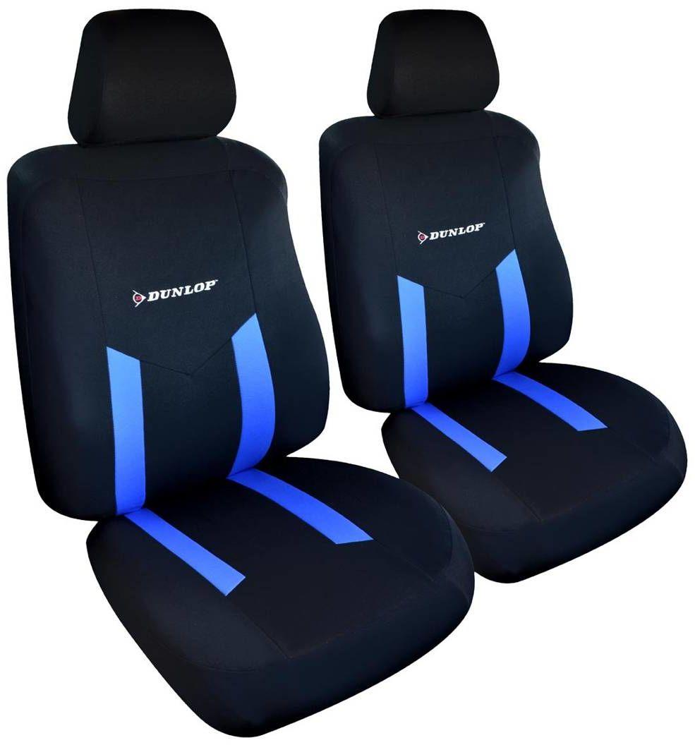 Pokrowce na fotele samochodowe przednie Dunlop x2