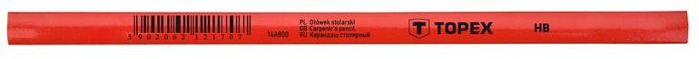 Ołówek stolarski 240mm HB 14A800