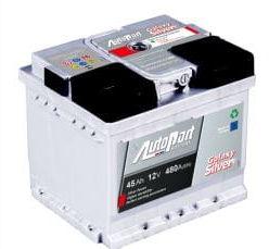 Akumulator Autopart Galaxy Silver 45Ah 450A P+