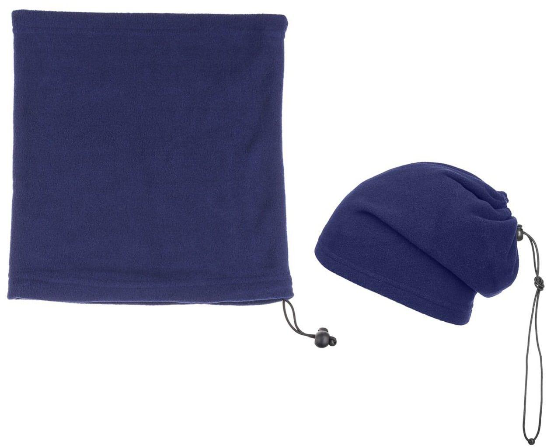 2 in 1 Czapka i Komin na Zimę Hotty, niebieski, One Size