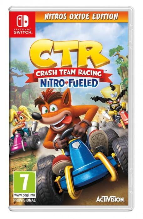 Gra Crash Team Racing Nitro-Fueled Nitros Oxide (Nintendo Switch)