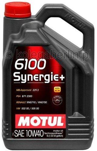 Olej silnikowy Motul 6100 Synergie+ 10W40 5L