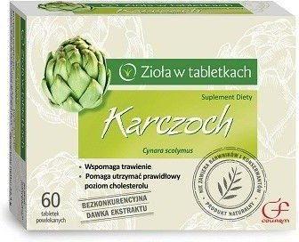 Karczoch 30 tabletek