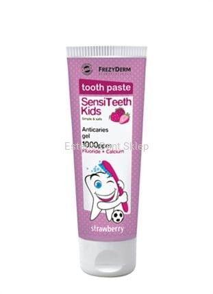 Frezyderm Sensiteeth 1000 ppm - Pasta do zębów dla dzieci do codziennego stosowania