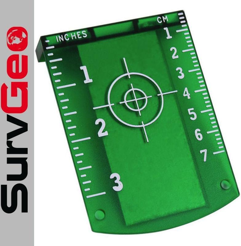 Tarcza laserowa do laserów zielona SurvGeo