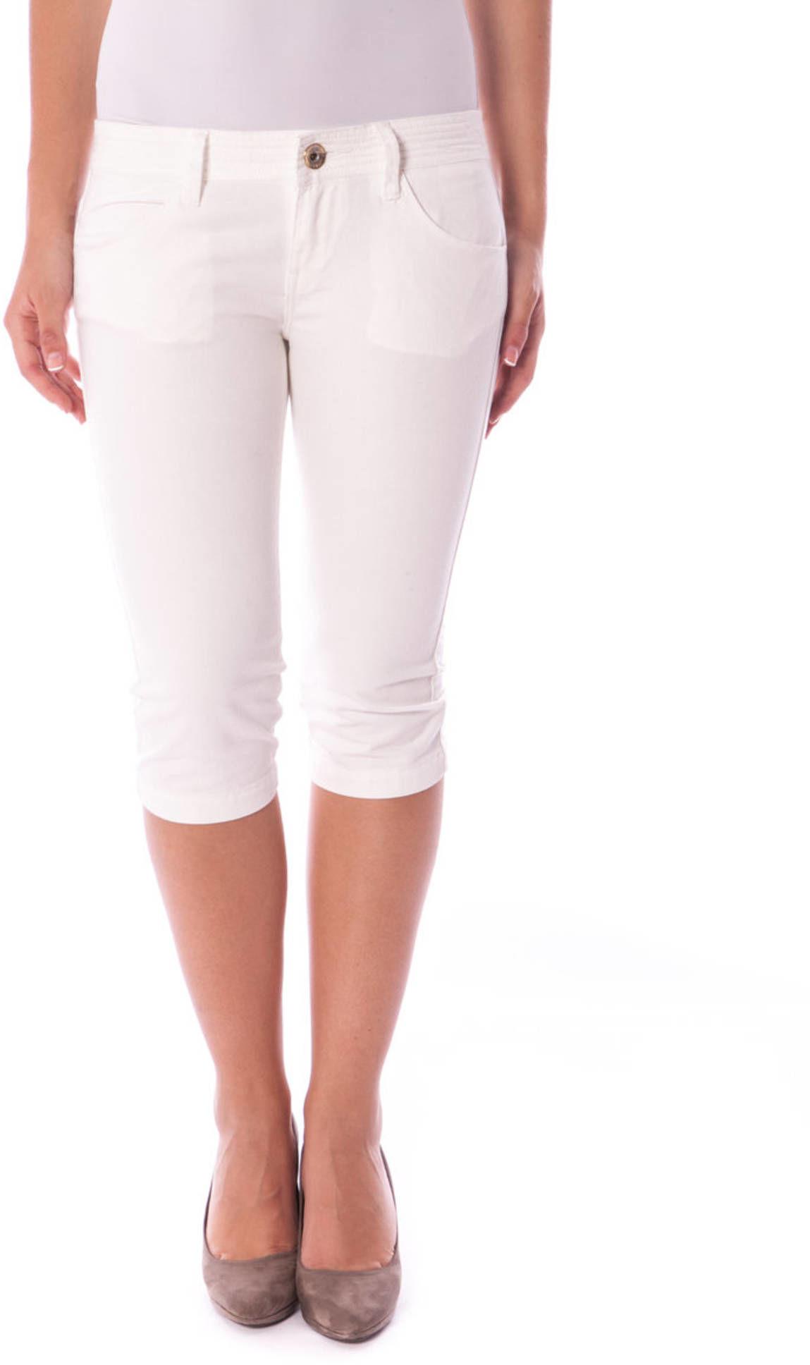 FORNARINA Spodnie Capri Damskie