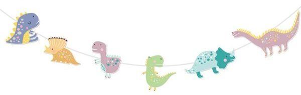 Baner dinozaury na urodziny 300cm 511843