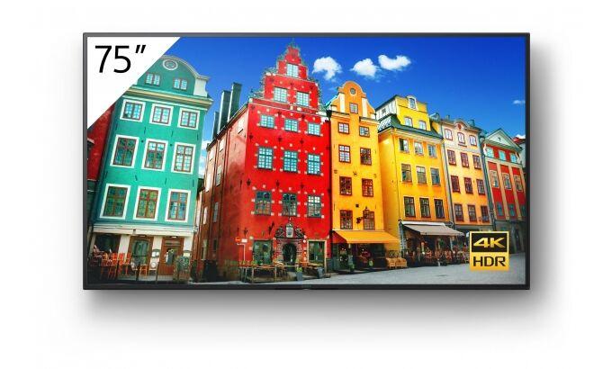 Monitor 4K Ultra HD HDR BRAVIA Sony FW-75BZ30J+ UCHWYTorazKABEL HDMI GRATIS !!! MOŻLIWOŚĆ NEGOCJACJI  Odbiór Salon WA-WA lub Kurier 24H. Zadzwoń i Zamów: 888-111-321 !!!
