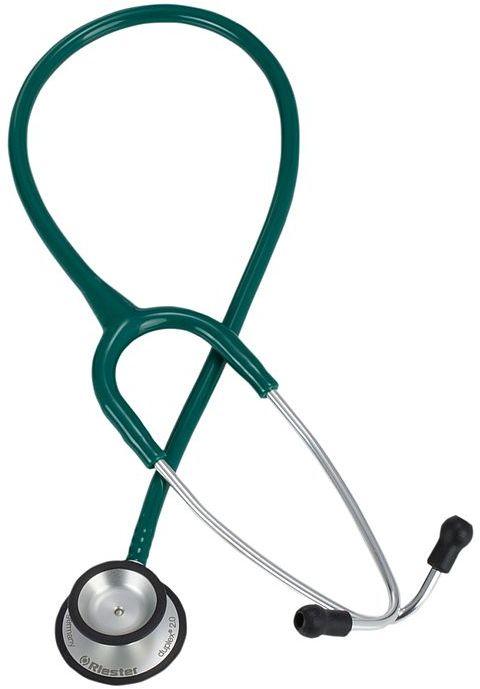 Riester Duplex 2.0 z aluminiową głowicą-zielony Stetoskop o dwustronnej głowicy posiadający doskonałe parametry odłuchowe