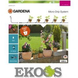 GARDENA Micro-Drip-System  zestaw podstawowy S do roślin doniczkowych(13000-20)