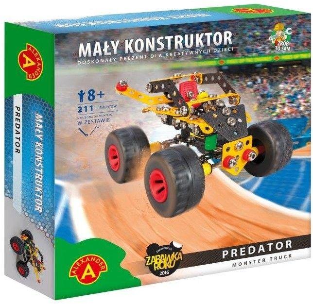 Zestaw konstrukcyjny Mały Konstruktor Monster Truck - Predator