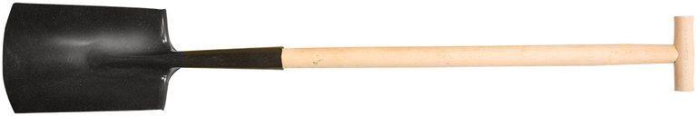 Szpadel prosty drewniany trzonek uchwyt T 15A040