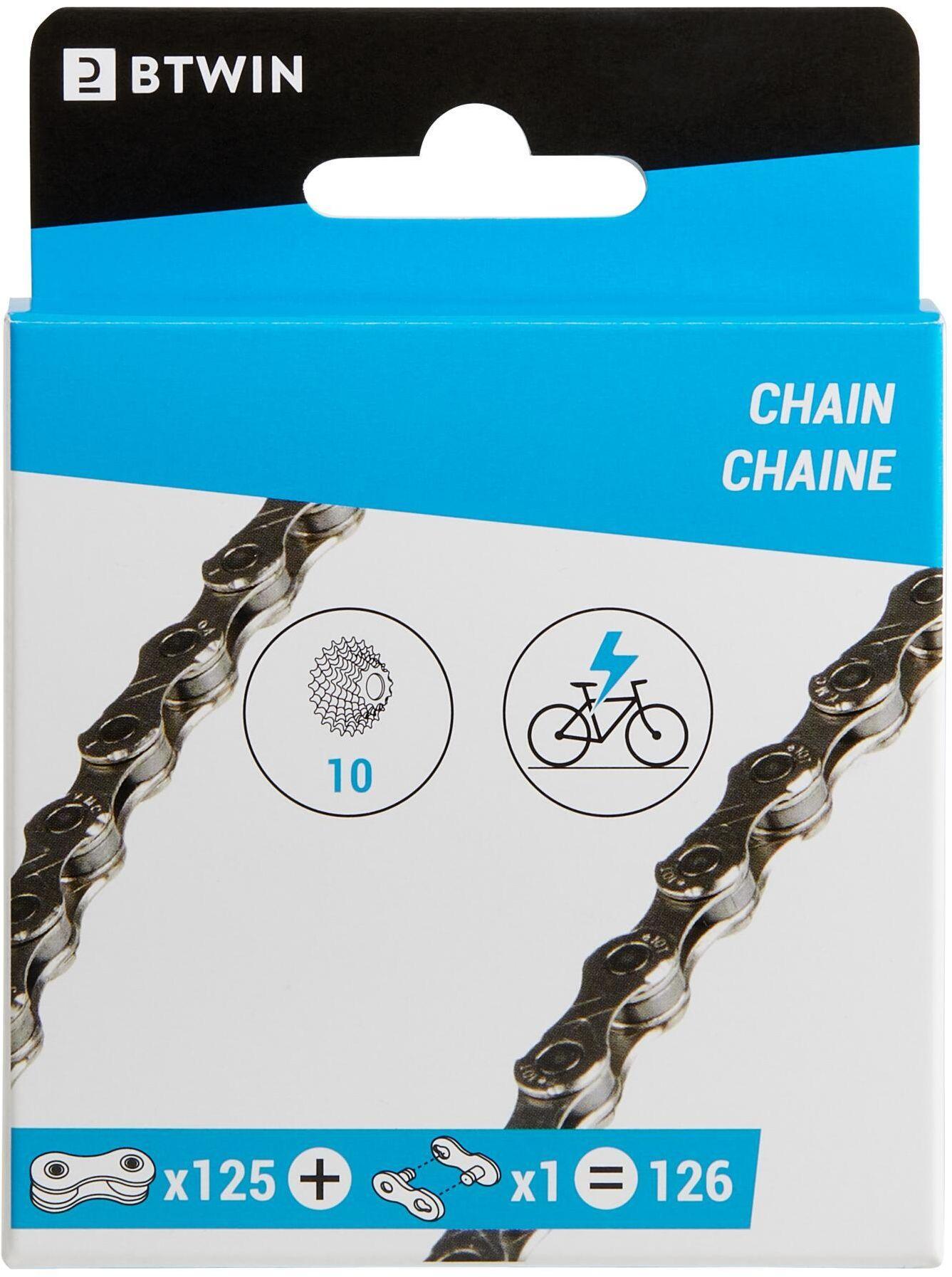 Łańcuch Rowerowy 10-Biegowy Do Roweru Elektrycznego