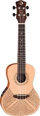 Luna Uke TAPA Concert A/E Gigbag - elektryczne ukulele koncertowe