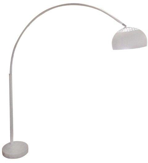 Lampa podłogowa Togo AZ1512 AZzardo biała oprawa w stylu design