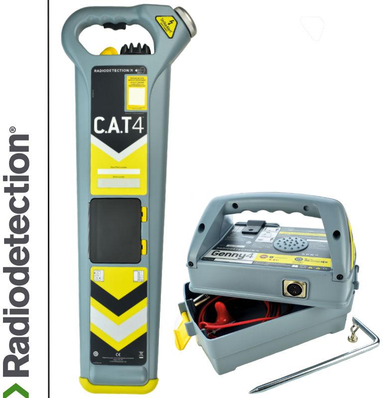 Wykrywacz instalacji podziemnych Radiodetection Cat4 strike & Genny