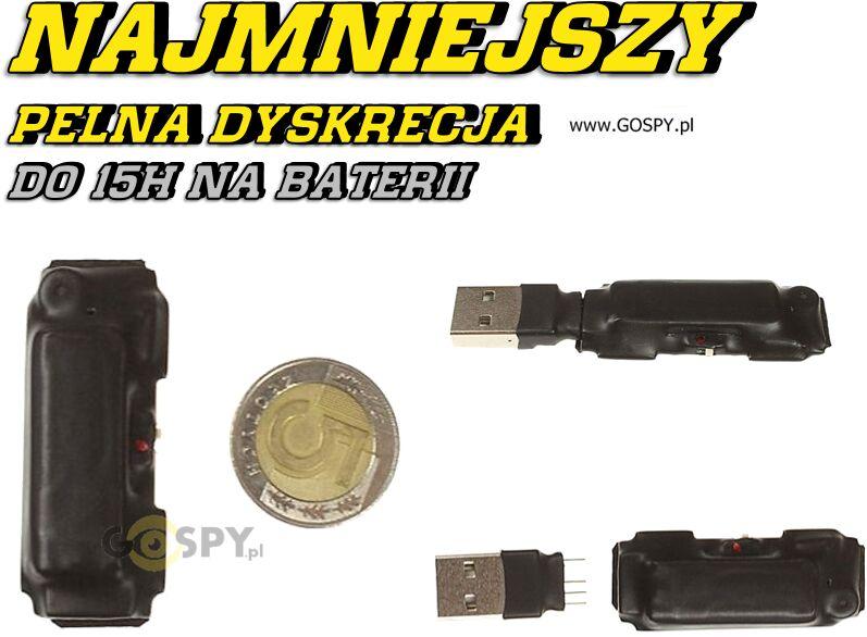 Najmniejszy na rynku dyktafon cyfrowy MKX mini 8GB