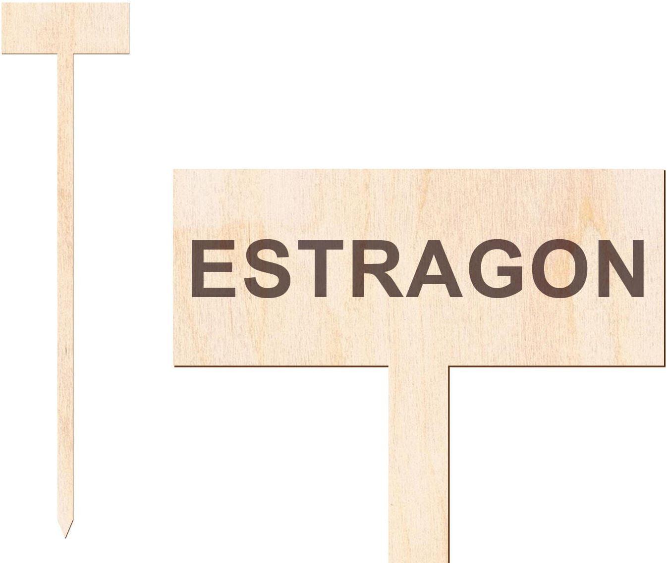 Tabliczka do oznaczania roślin Estragon - 1 szt.