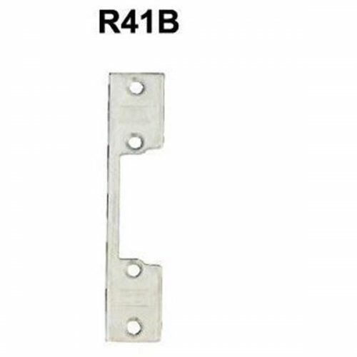 Zaczep płaski R41B krótki do elektrozaczepu RE41 szer.22 mm