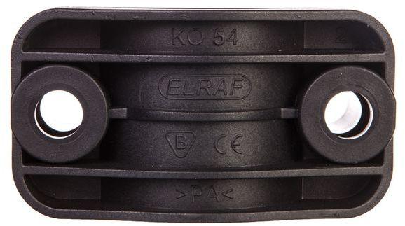 Uchwyt kabla siłowego 35-54mm czarny KO54 37.54