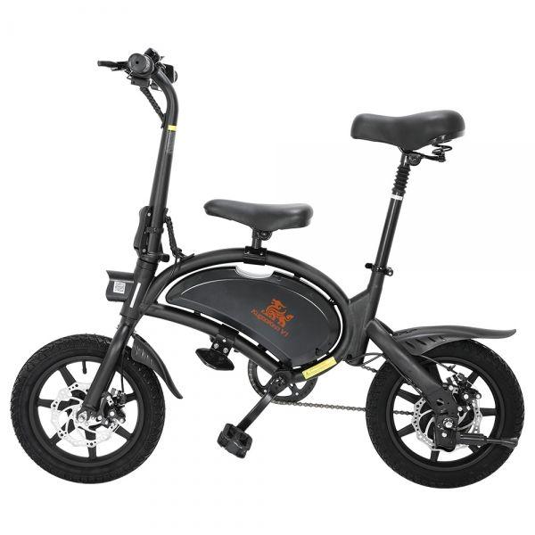 Składany rower elektryczny KUGOO KIRIN V1 7,5AH 14'' 400W- Czarny